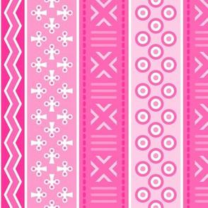 06899116 : mudcloth : fuchsia pink