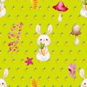 Rbunny_carrots_and_mushroom_lime_green_by_floweryhat_shop_thumb