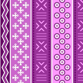 06899182 : mudcloth : magenta purple