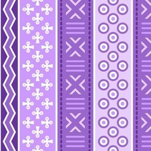 06899184 : mudcloth : violet mauve