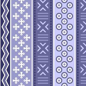 06899185 : mudcloth : lavender indigo