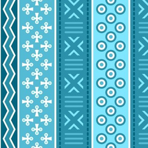 06899216 : mudcloth : turquoise
