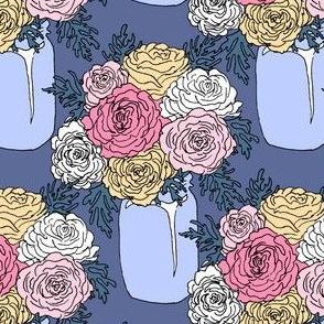 Mason Jar Roses