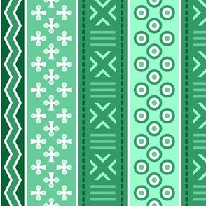 06899246 : mudcloth : jade green
