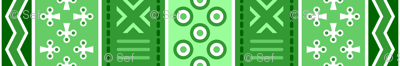 06899249 : mudcloth : emerald green