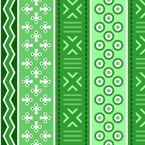 06899249 : mudcloth : emerald green fabric by sef on Spoonflower - custom fabric