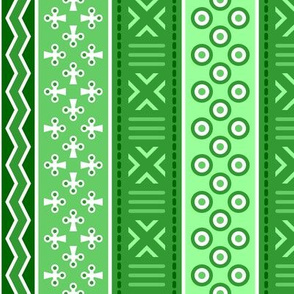 06899249 : mudcloth : emerald green
