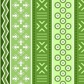 06899252 : mudcloth : lime green