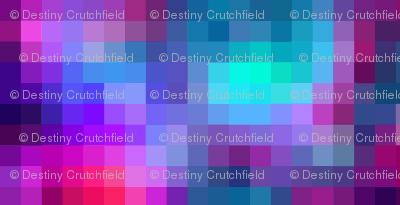 Pixel pastel galaxy