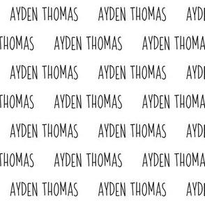 Ayden Thomas