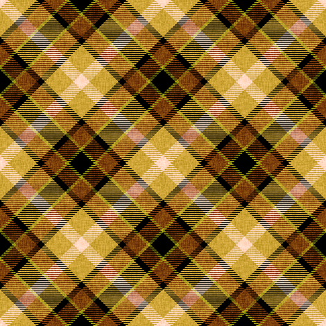 Golden Apple Plaid fabric by eclectic_house on Spoonflower - custom fabric