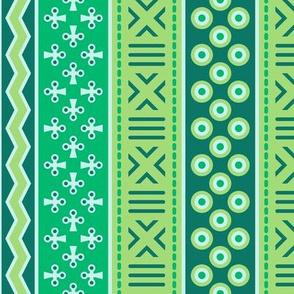 06899617 : mudcloth : serene green