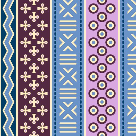 06899621 : mudcloth : twilight fabric by sef on Spoonflower - custom fabric
