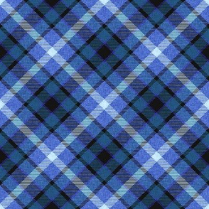 Blue Apple Plaid