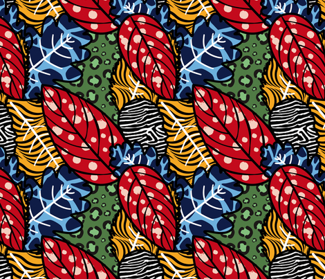Africa fabric by valmo on Spoonflower - custom fabric
