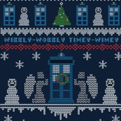 Wibbly Wobbly Christmas Sweater