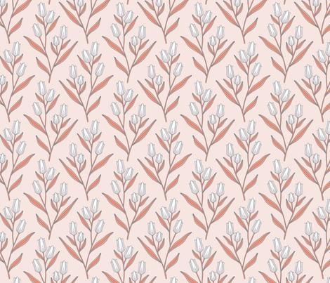 Tulips fabric by andie_hanna on Spoonflower - custom fabric