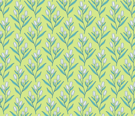 Tulips fabric by andie_hanna on Spoonflower - custom fabric