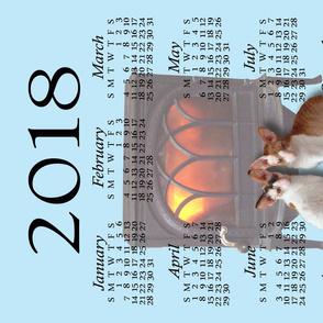 Dean & Danita's 2018 Tea Towel Calendar