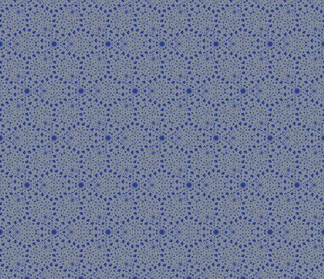 Mod Snowstorm fabric by mgdoodlestudio on Spoonflower - custom fabric