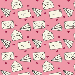 happy mail pink