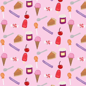 sweets_pink_background
