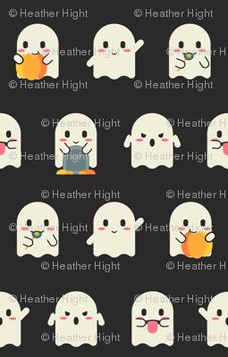 Halloween Ghost Emojis