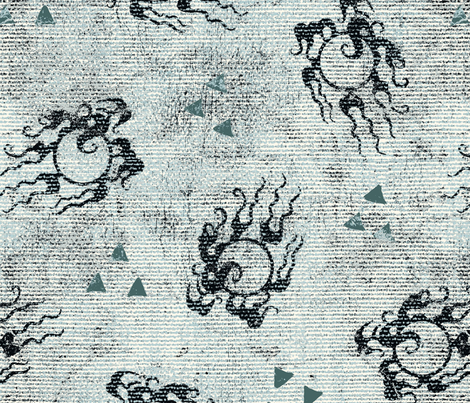 grey_dragon_basic fabric by susiprint on Spoonflower - custom fabric