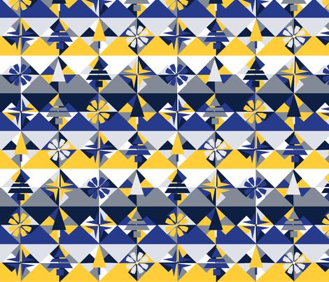winter mod fabric by casey_belle_ on Spoonflower - custom fabric