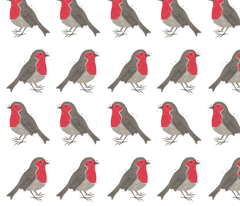 Rockin' Robin fabric by ruth_hickson on Spoonflower - custom fabric