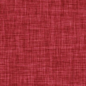 red linen solid