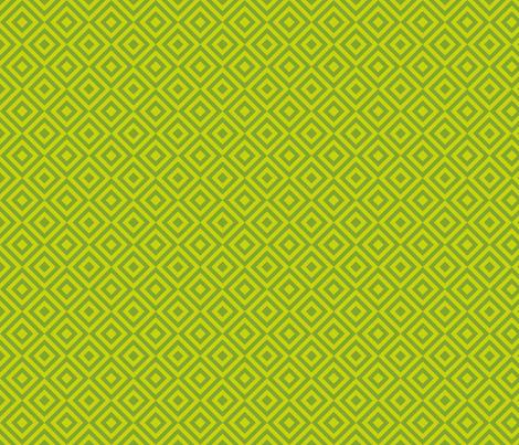 Geometric Pattern: Diamond Strobe: Lime fabric by red_wolf on Spoonflower - custom fabric