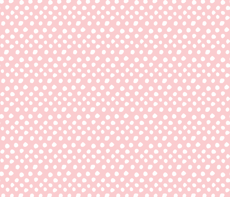 Hand Drawn Organic Dots  fabric by scarlette_soleil on Spoonflower - custom fabric