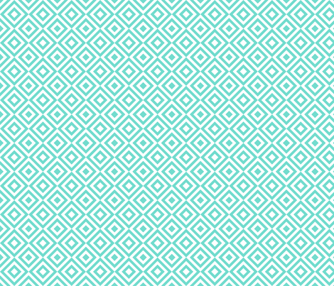 Geometric Pattern: Diamond Strobe: Blue fabric by red_wolf on Spoonflower - custom fabric