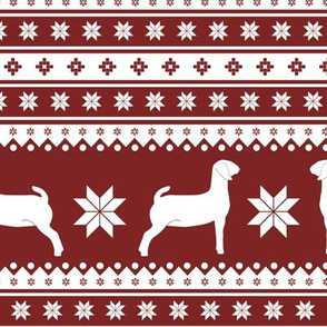 Christmas Sweater - Goats