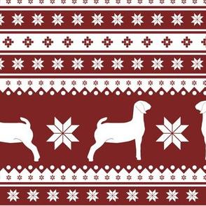 Christmas Sweater - Goats