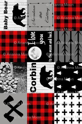 Corbin custom blanket