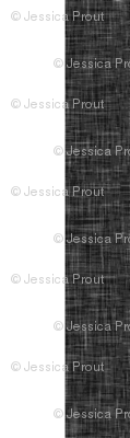 "dark grey linen stripe 1"" (90) || the lumberjack collection"