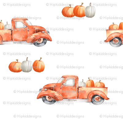 "6"" Pumpkin Patch // White"