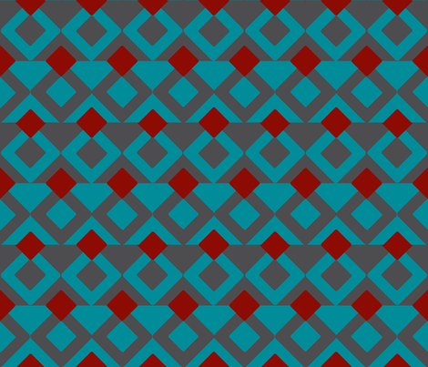 Graphic_1_Larger-Gray-teal fabric by mammajamma on Spoonflower - custom fabric