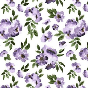 Ultra Violet Flowers -Small