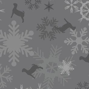 Snowflakes & Goats