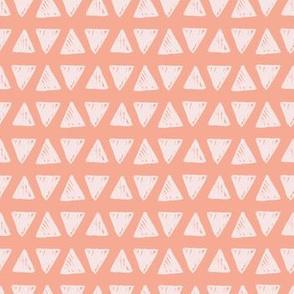 Hand drawn triangles