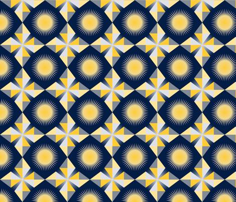 winter mod celestial fabric by verergmat_ltd on Spoonflower - custom fabric
