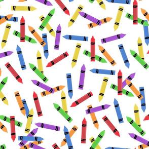 Jumbled Crayons