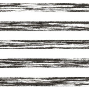 Stripes Grunge Pencil Charcoal  Black & White Larger