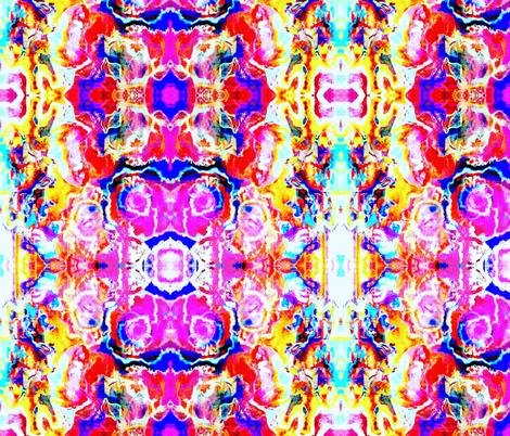 Gingerbread Rainbow fabric by nymphaeastudio on Spoonflower - custom fabric
