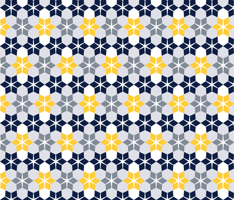 Sunny Day, Snowy Day fabric by anniecdesigns on Spoonflower - custom fabric