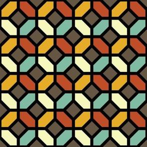 Geometric Pattern: Octagon: Fall