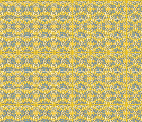 Le Maison in Sunflower fabric by theitsiegypsy on Spoonflower - custom fabric